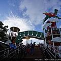 【沖繩旅遊回憶錄】奧武山公園溜滑梯。奧武山公園。おうのやまこうえん。ONOYAMA PARK。單軌列車半日遊超方便!