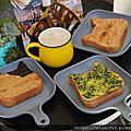 【林口早午餐推薦】早點初發 林口 三明治•菠蘿堡專賣,貓咪吐司可愛又好吃!新鮮薯泥烤土司,口感滑嫩又綿密