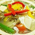 豆腐鮭魚鍋