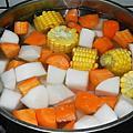 三色蘿蔔湯