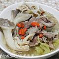 菇菇羊肉湯