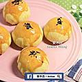 2019 蛋黃酥(紅豆泥+鹹蛋黃餡)