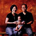 馬林魚寶齋的家庭照