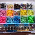 臻的生日禮物-rainbow loom