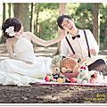Wedding自助婚紗--復古田園野餐風格