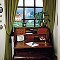 窗簾展示-古典風
