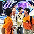 2009/06/14 藝人交流 與李聖傑合唱