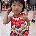 一歲九個月的扶桑花女孩包子柔小姐