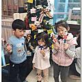 20181223 汐運聖誕.DIY聖誕小書籤及拼音找禮物