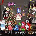 聖誕節領聖誕賀圖