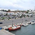 2007蜜月‧希臘─雨中的Mykonos