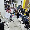 2011年婚禮銅管五重奏練習實況