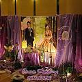 紫式唯美婚禮佈置@東東宴會廳東儷廳