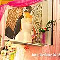 粉+桃~甜蜜公主風婚禮佈置@大使海鮮餐廳