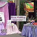 神祕紫色系-黃先生婚禮佈置@歸仁