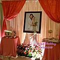 桃+粉 甜美蝴蝶結熊熊風婚禮佈置@濃園玫瑰廳