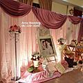 溫馨熊熊的典雅浪漫粉婚禮佈置@海佃路餐廳