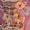 夢幻城堡公主風~旋轉木馬的婚禮佈置@台南戶外流水席晚宴