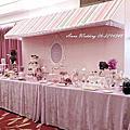 法式優雅蕾絲櫥窗甜點-婚禮Candy Bar@台南大億麗緻