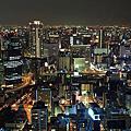 大阪.梅田展望台.夜景