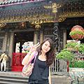 2010/01 龍山寺~我們求子去