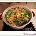 20120112 味噌貢丸蛋花湯