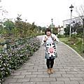 1080115鶯歌永吉公園炮仗花與三d彩繪