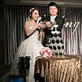 台北新秘|台北儷宴編髮中盤髮白紗造型 BRIDE 芳