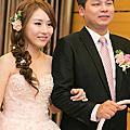 台北新秘|台北儷宴 浪漫側編髮送客造型 BRIDE 芳