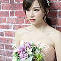韓風低馬尾編髮新娘造型 BOBI 新娘秘書  ~ Bride