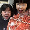 直排輪練習+帝王蟹