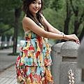 迷人的花裙子