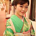 日本和服嫁衣 日系甜美立體編髮包頭