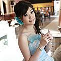 台北新娘秘書雅芳 浪漫側邊編髮