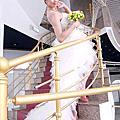 台北新娘秘書雅芳 法式優雅帽飾包頭