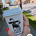 西雅圖。咖啡廳。uptowncoffee