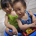 以榭(三歲九個月)以蒔(一歲七個月)
