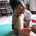 以榭(四歲七個月)以蒔(兩歲五個月)