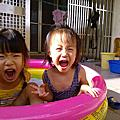 以榭(四歲八個月)以蒔(兩歲六個月)