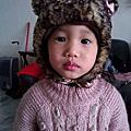 以榭(五歲四個月)以蒔(三歲二個月)