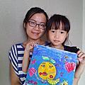 以榭(七歲二個月) 以蒔(五歲)