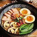 2016-09 臘肉溫泉蛋雞湯麵-統一