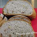 輕裸麥核桃麵包