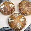 天然酵母鄉村麵包