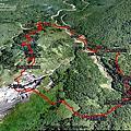 2014-1207台北市士林區 上磺溪停車場-大油坑-挑硫古道
