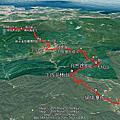 2019-1116 雙溪-暖暖 淡蘭古道中路前段 威惠廟-暖東峽谷