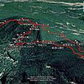 2020-0823 小溪頭環狀步道-大崙尾頭山-甜水鴛鴦湖-碧山西峰-溪山里山