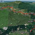 2021-0101 陽明山 絹絲瀑布-雞心崙-夢幻湖山-七星山