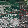2021-0307 台北市北投區 行義公園上軍艦岩連稜下東華山