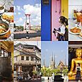 小編私藏曼谷一日遊:搭新地鐵去Sam Yot站,逛大鞦韆區看見什麼吃什麼,慢慢散步慢慢拍照,文青一定喜歡的復古舊城區散策